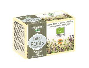 HEP ROBIS CON 20 INFUSIONES BIO DE 15 GR