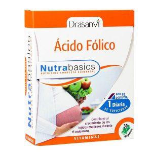 ACIDO FOLICO 30 CAPS. NUTRABASICS