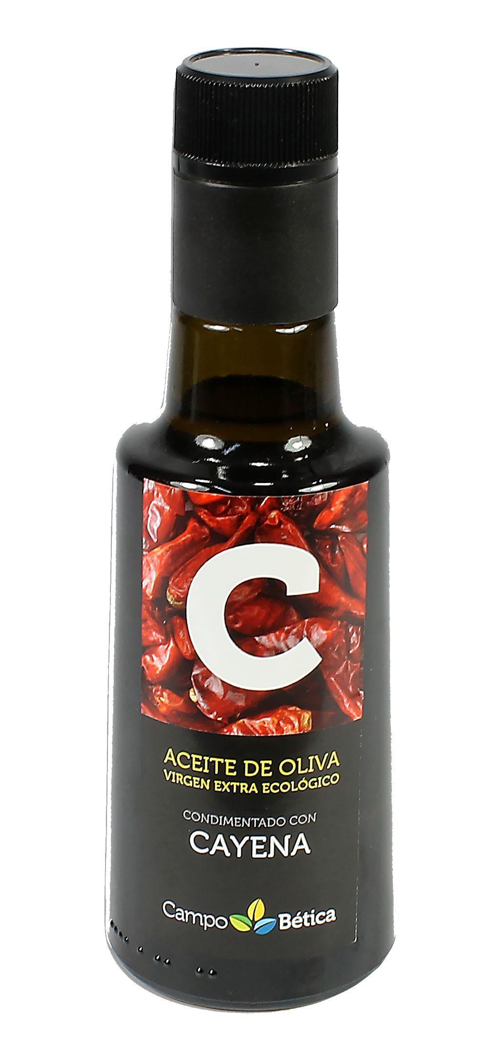 ACEITE OLIVA V.E. BIO CONDIMENTADO  CAYENA 250ml