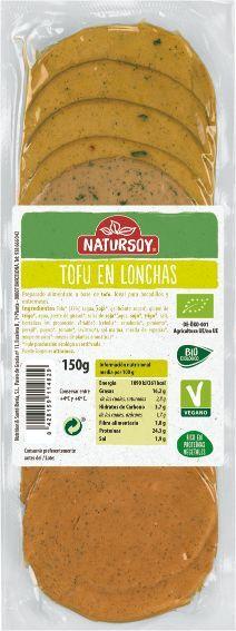 REFRIG TOFU EN LONCHAS BIO 150 g Natursoy